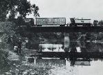 TSBY 1977 leads across the Cass River bridge