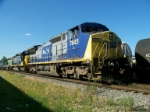 CSX 7845 with Q505 Southbound