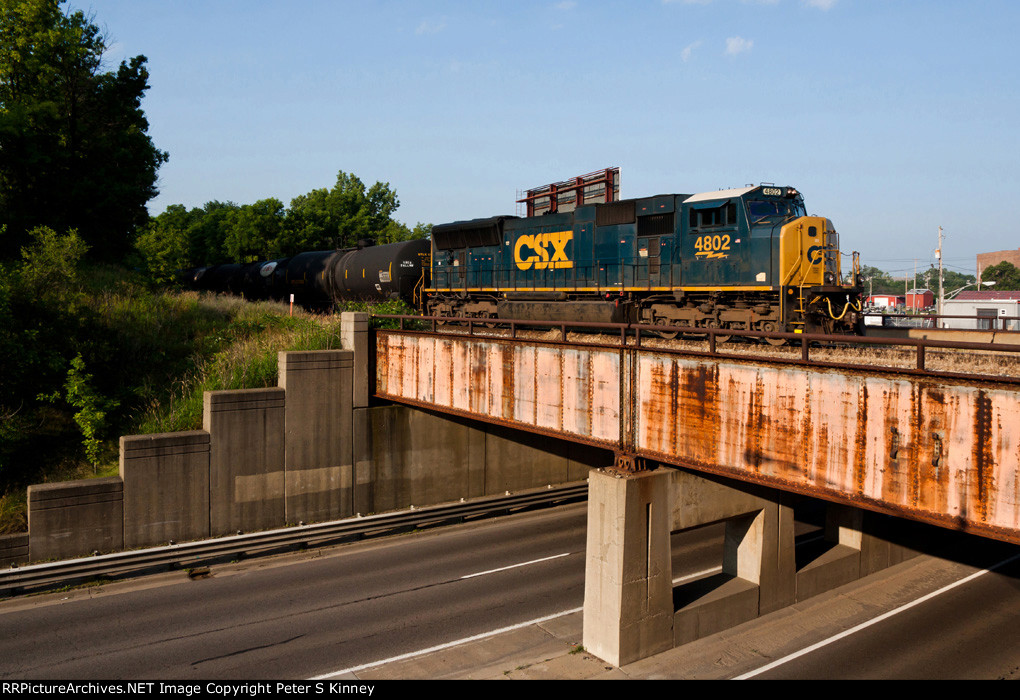 CSXT Train Q33510