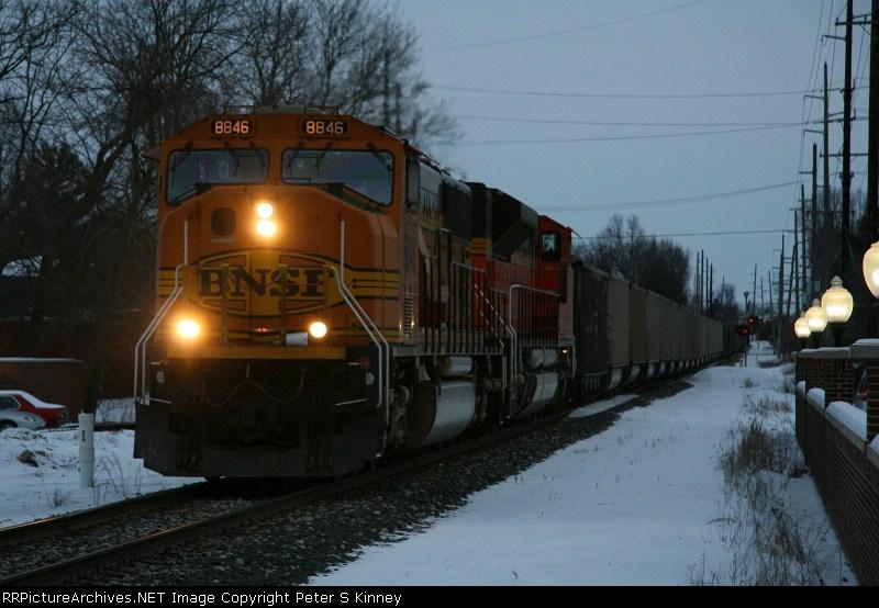 CSXT Train N90307