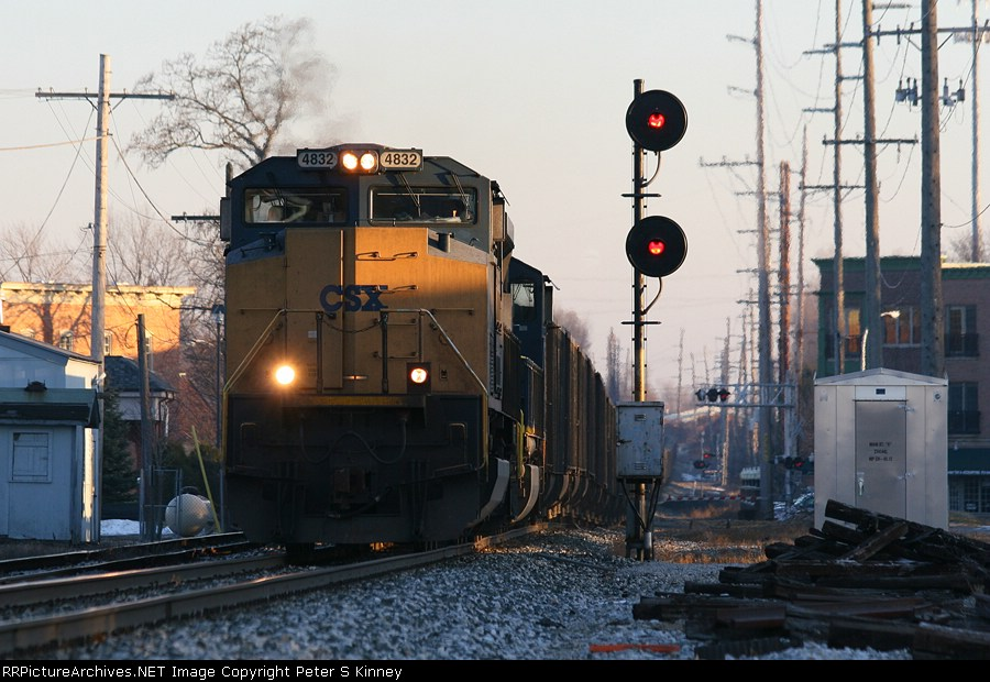 CSXT Train N90722