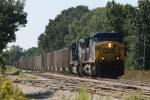 CSXT Train E44629