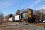 CSXT Train D70803