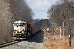 CSXT Train N95603