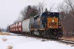 CSXT Train D70828