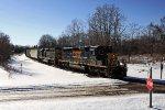 CSXT Train D70708