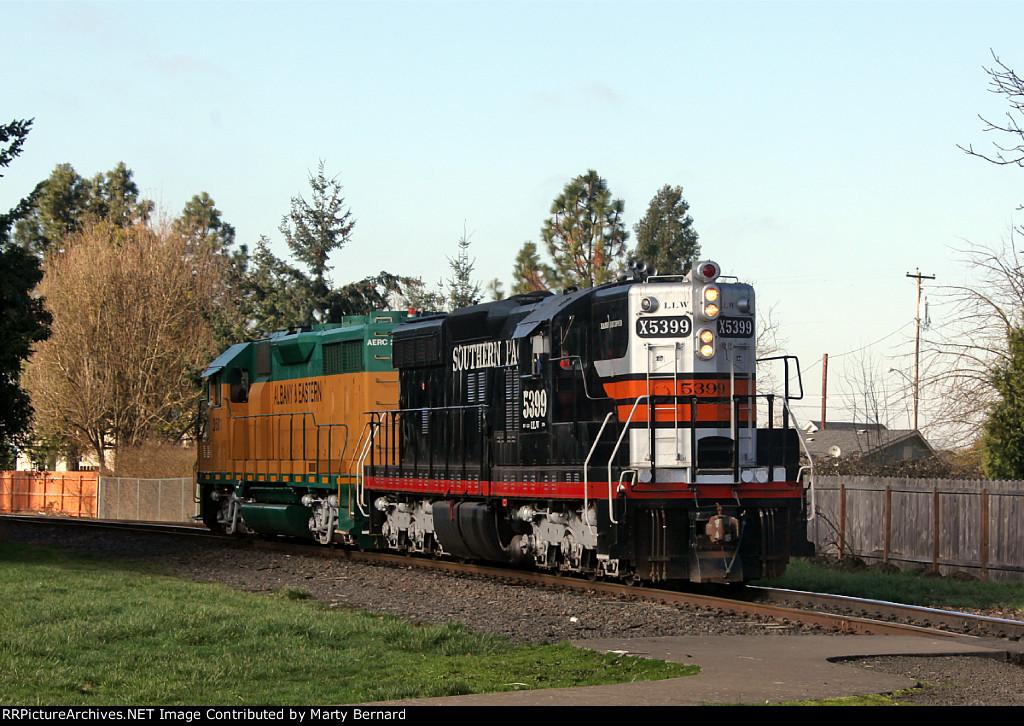 LLW 5399 and AERC 2501