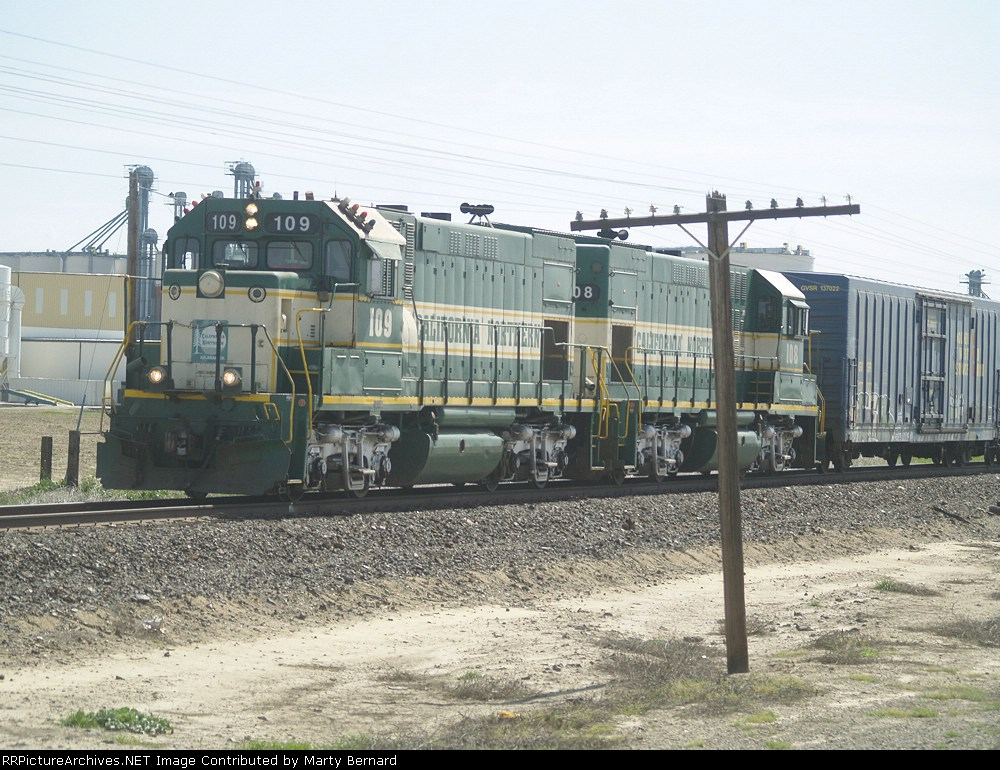 CFNR 109 and 108 Switching