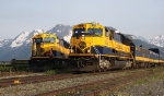 ARR 4320 and 4321 Meet at Whittier Junction at 8:40 pm
