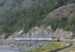 ARR 4322 With SB DEX South of Anchorage Heading to Whittier