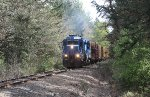 Coos Bay Rail Link 2448 from Huston Road