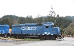 Coos Bay Rail Link 2448 at Swanson Brothers Lumber