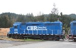 Coos Bay Rail Link 2439 at Swanson Brothers Lumber
