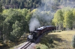 Cumbres & Toltec Scenic RR #484 About 5 Miles From Town WB