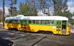 Orange Empire Railway Museum's Los Angeles Transit Lines (LATL) #3100 Sunning Her Self Today