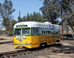 Los Angeles Transit Lines #3100 Out for the First Time Since Restoration