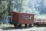 Cass Scenic RR Caboose #8 in 1969