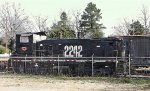 KXHR 2242 on the Laurinburg and Southern RR