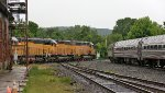 NECR 2680 and 2714 Head North Just as Vermonter clears