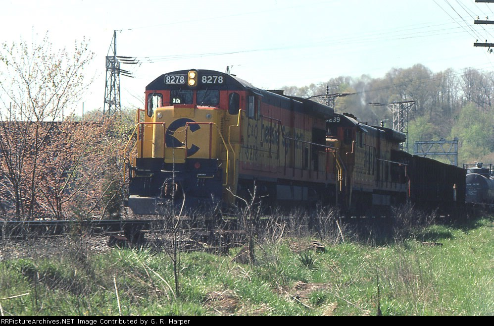 Westbound GE action at the dam