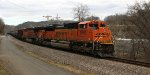 BNSF 9050 eastbound on oil train K08216
