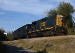 CSXT 2004 LHF brings the H744 local back to Lynchburg