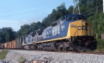 CSXT 7661 on R300 (I think) at the power plant