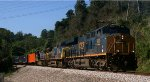 642 - A good Pick-3 selection?  CSXT 999 westbound on Q13523