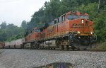 453 - a RARE move, indeed!  BNSF pair on Q13504 (formerly Q139).