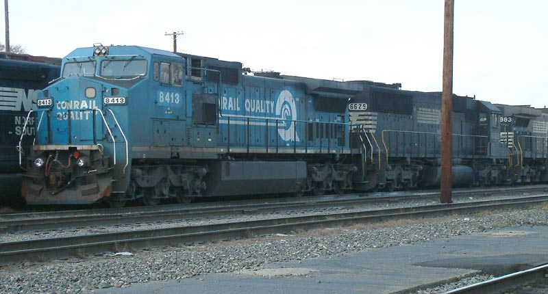 SB Freight Train laying over