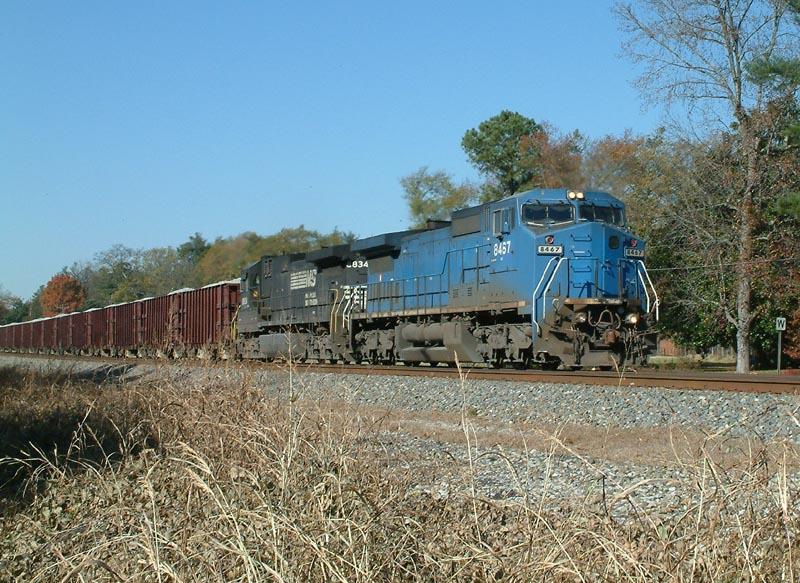 NS Ballast Train 924