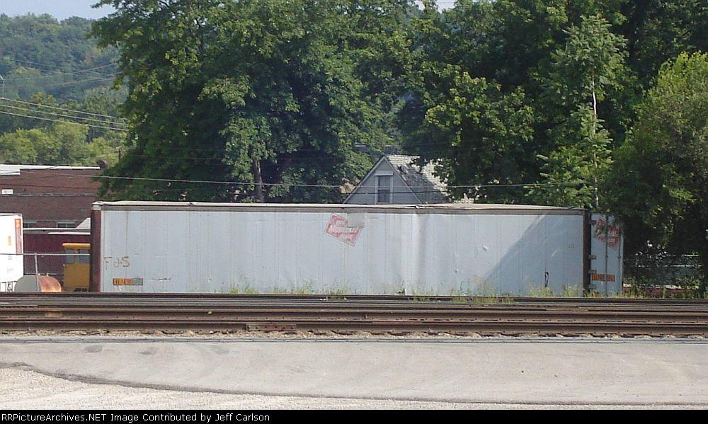 Milwaukee Road trailer