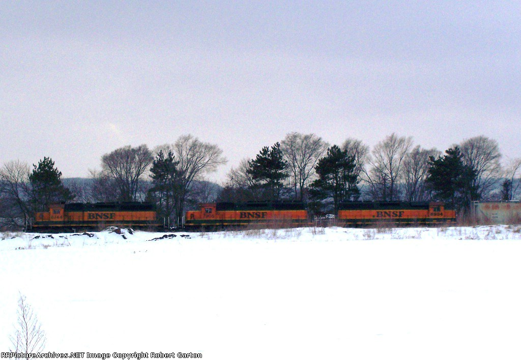 Three Heritage I Locomotives in One Lash-up!