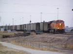 An East-bound Coal Train Patiently Awaits its Turn on on One of Two Main Thru Tracks