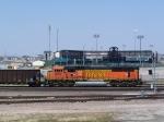 BNSF 8972 (DPU) Passes Haymarket Park: Home of the Lincoln Saltdogs and Nebraska Cornhusker Baseball Teams