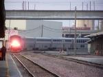 AMTK 66 Arrives at the Station