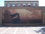A 3D Mural Made Entirely of Hand-Fashioned Bricks Adorns the North Side of Lincoln Station