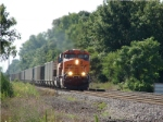 BNSF 6022 leading eastbound Consumers Energy coal on CN