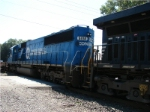 NS 5414 still in full Conrail Quality paintscheme