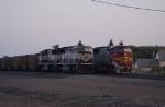 BNSF 9760  BNSF 8283