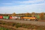 BNSF 4606 on CSX Q380-30