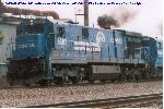 Conrail C30-7A was really cookin'!