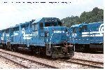 Retired Conrail GP35