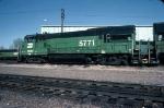 1331-17 BN 5771  stored at Mpls Junction engine shop