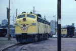 1344-35 C&NW #401/402 business F-units parked at Western Avenue Yard