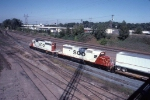 1378-05 Westbound SOO freight at MN Transfer Raymond Ave yard