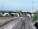 1380-17a BN Northtown Yard with SOO bridge overhead viewed from St. Anthony Pkwy