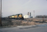 1386-20 Eastbound C&NW freight