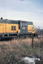 1386-21 Eastbound C&NW freight