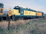 1386-22a Eastbound C&NW freight